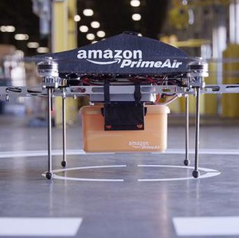 Amazon is hoping to use drone aircraft called Prime Air for deliveries