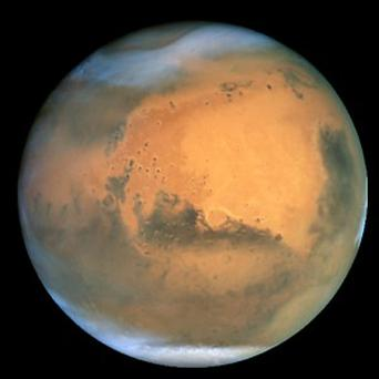 Scientists believe they have discovered evidence of a freshwater lake existing on Mars (NASA)