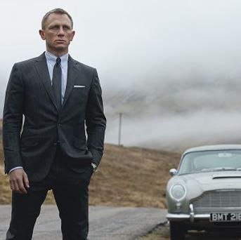 Daniel Craig as James Bond, as researchers claimed the fictional spy drank more than four times the weekly recommended limit of alcohol