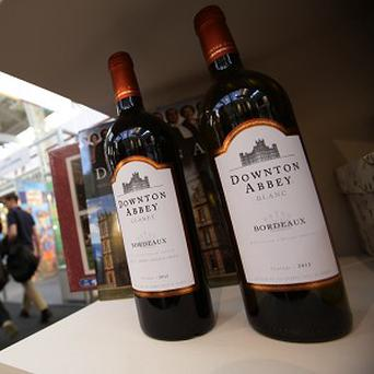 Downton Abbey fans can now drink the wine.