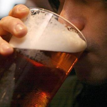 Workers are much more likely to drink than those who are unemployed, according to new figures.