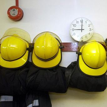 Three units of the fire brigade and emergency services rushed to the scene of the blaze at 1.15am.