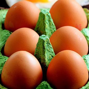 Lauren Scouse found a five pound note when she bought a box of eggs at a Tesco store in Southsea, Hampshire