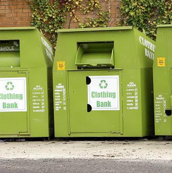 Thieves have targeted the charity's clothing banks. (Stock image)