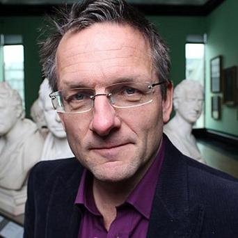 BBC presenter Michael Mosley allowed tapeworms to live inside his body as part of an experiment (PA/BBC)