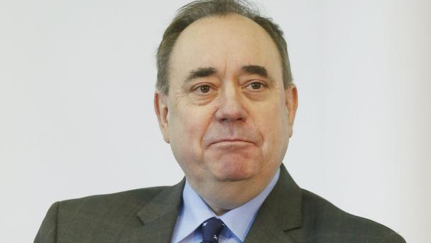 The Scottish National Party's Alex Salmond