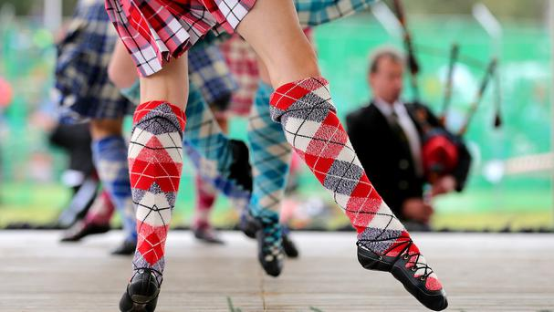 Highland Games officials are seeking a strongman who carried the Dinnie Stones