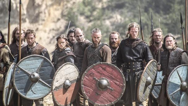 The study has been released to mark the new series of US TV show Vikings (Amazon's LOVEFiLM/PA)