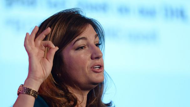 Karren Brady speaks to the British Chambers of Commerce annual conference