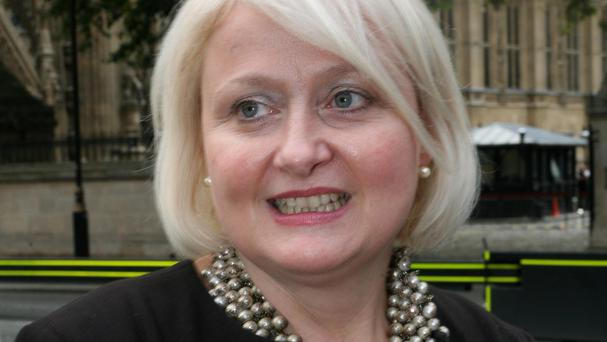 Siobhain McDonagh was trying to ask David Cameron a question about the 'bobby tax' when she was jeered by Tory MPs