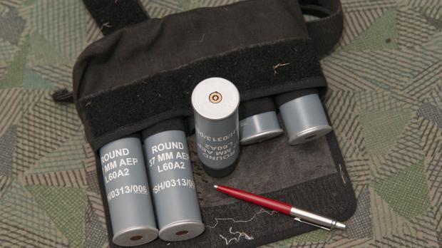 A bag of rubber bullets was found by members of the public after Cumbria Police 'misplaced' them
