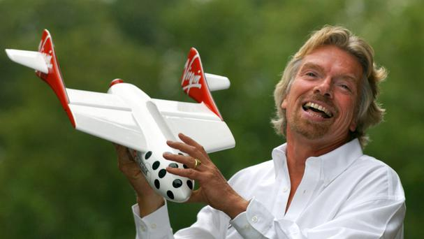 A citizen of the oil-rich United Arab Emirates could soon get the chance to be rocketed into space with Richard Branson's Virgin Galactic