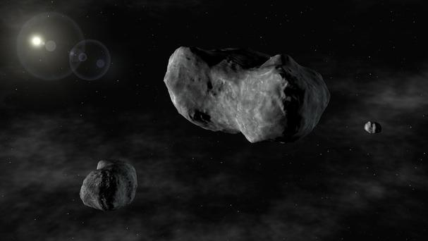 People could actually mine asteroids in the future, according to a Nasa expert