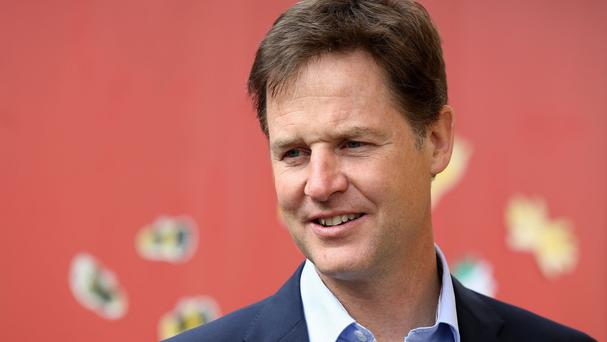 Labour takes aim at Lib Dem leader Nick Clegg in its new broadcast