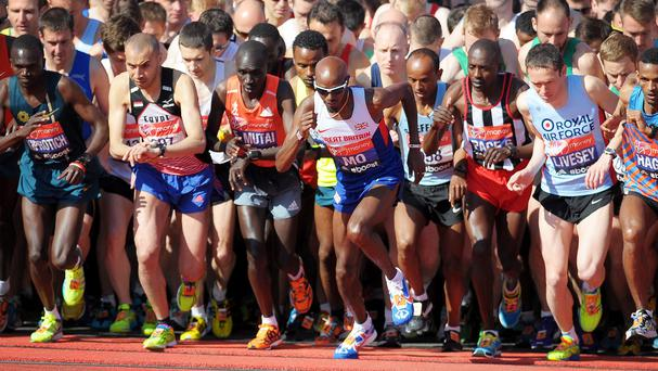 Nerves on the start line are something every athlete has to overcome