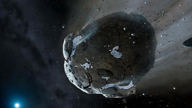 An asteroid impact caused a similar effect to a nuclear winter, say scientists