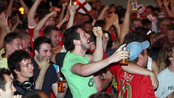 England fans might have to make the most of the early rounds, according to Government officials