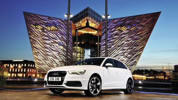 Car models seen as being the best to have parked outside a property include Audi