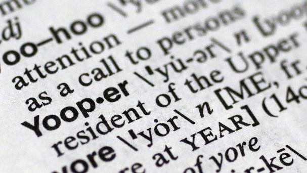 Yooper was one of the 150 new words appearing in an updated dictionary (AP)