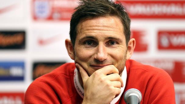 Frank Lampard's signature was published along with the team's passport numbers