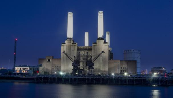 Battersea Power Station is to become an open-air cinema this summer