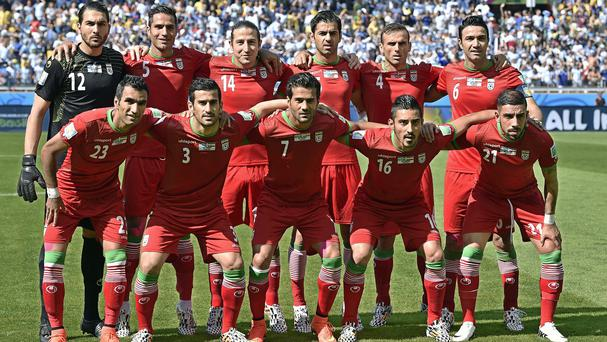 The Iran national team are in Brazil for the World Cup (AP)