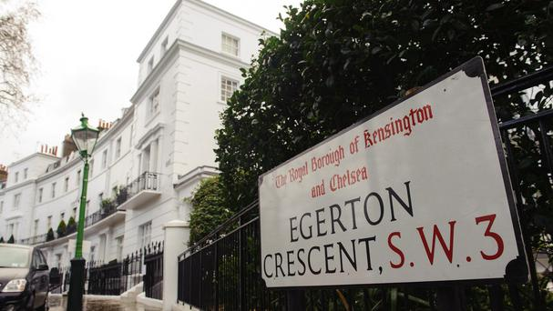 Kensington and Chelsea is Britain's most expensive place to buy a property on a
