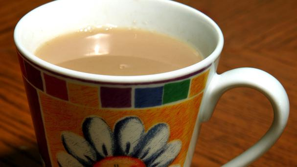 A mug of tea is a staple of life for many Britons, a survey found
