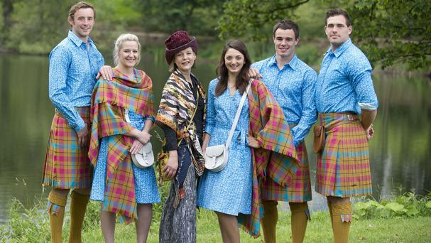 The Team Scotland outfit has split opinion, with athletes and organisers said to have given a 'favourable reaction' to it, while many people continue to ridicule the design (Team Scotland/PA Wire)