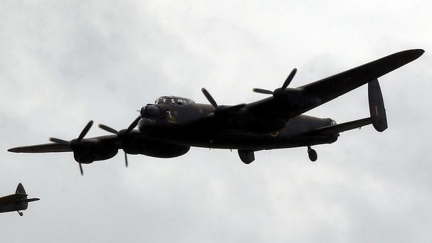 A man has paid £43,000 for a seat on a Lancaster Bomber flight
