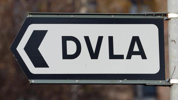 DVLA plates are up for auction