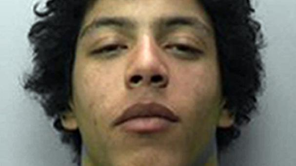 Armed robber Jay Georgiou, 19, threatened three men in a flat raid but was caught after the robbery was broadcast to a gamer 25 miles away who was playing an online X-Box game with one of his victims