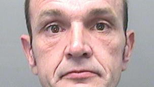 Steven Craig Vonk, from Brynmill, Swansea, has been jailed at Swansea Crown Court after he was caught for a burglary when his DNA was found on a can of lager he left at the crime scene (PA/South Wales Police)