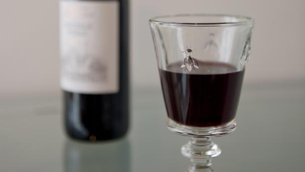 A woman in the US has allegedly stolen a bottle on wine in order to get to jail, where her boyfriend was
