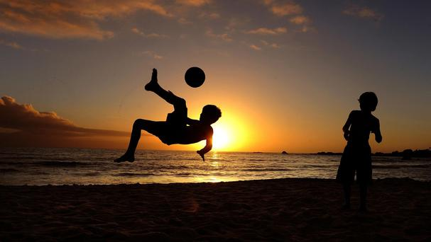 Aerobically fit nine and 10-year-olds have denser regions of