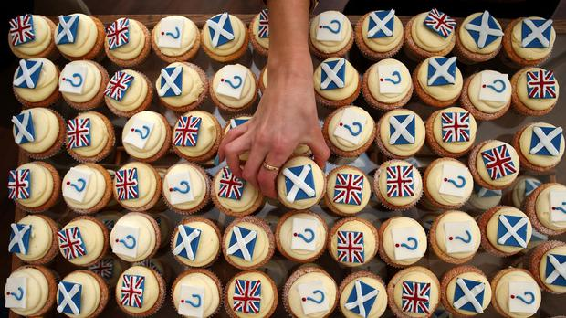 Edinburgh bakery Cuckoo's launched its own referendum opinion poll with cupcakes