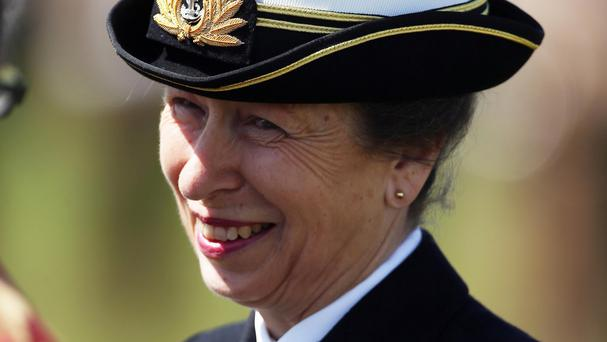 A civic leader missed an appointment with the Princess Royal because of a lift mishap