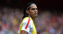 Radamel Falcao is currently on loan at Manchester United