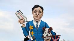 Jose Manuel Barroso's effigy will be burned at the stake