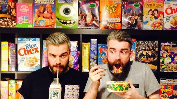 Alan and Gary Keery are 'obsessed with everything cereal' (cerealkillercafe.co.uk)