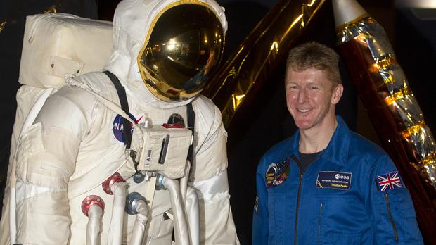 Major Tim Peake, the UK's first astronaut in space for more than 20 years, could return a younger man, thanks to a stellar time warp