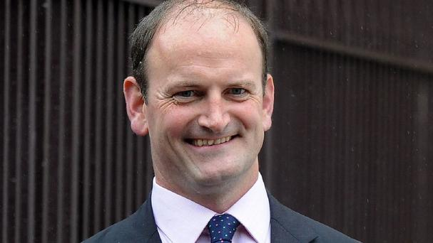 Douglas Carswell later laughed off the post, which he insisted had been sent by his daughter