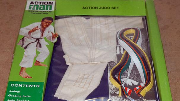 The Action Man Judo sporting kit is very rare and going up for auction (Vectis Auctions/PA)