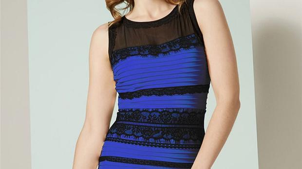The two-tone dress that has sparked a global debate on Twitter over its  colour 1bf415eba