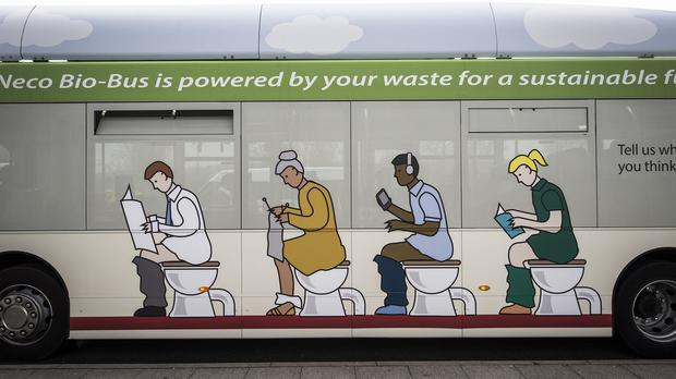 The Bio-Bus will use waste from more than 32,000 households along a 15-mile route
