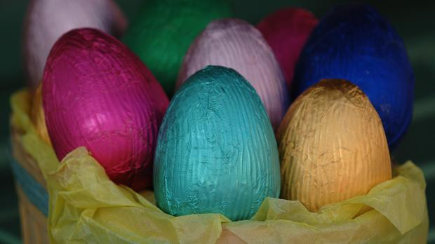 Villagers in Alderholt, Dorset, each awoke to find an Easter egg on the doorstep of every house