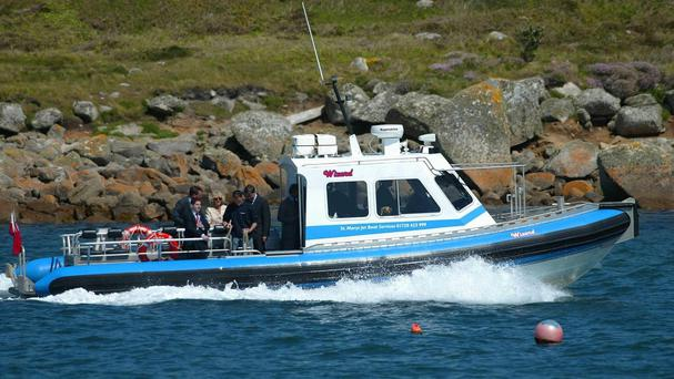 The Isles of Scilly has proven a big draw for the world's would-be police officers