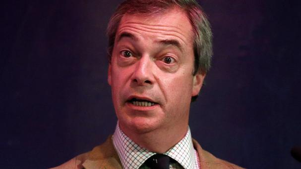 Ukip leader Nigel Farage has upset a Polish prince with his comments about traffic jams on the M40