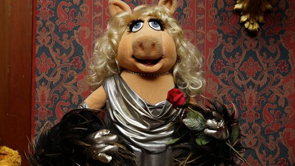 Miss Piggy is to be honoured in the Sackler Centre First Awards (AP)