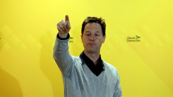Nick Clegg has accepted a £50 wager on his return as Deputy PM